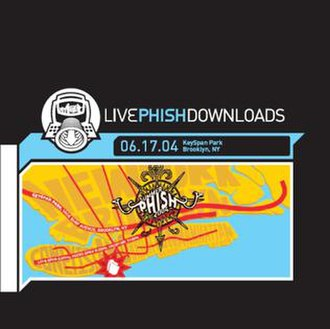 Phish: Live in Brooklyn - Image: Live Phish 061704