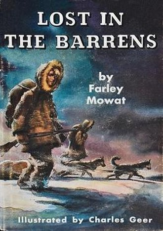 Lost in the Barrens - First edition
