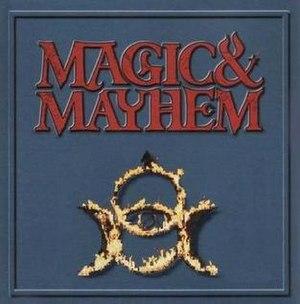 Magic and Mayhem - Image: M&mcoverart
