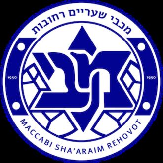 Maccabi Sha'arayim F.C. - Maccabi Sha'araying's crest used in 2016-17 season