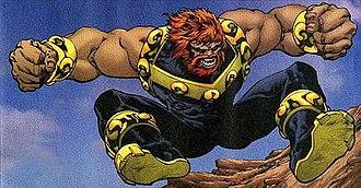 Mammoth (comics) - Image: Mammoth Jump