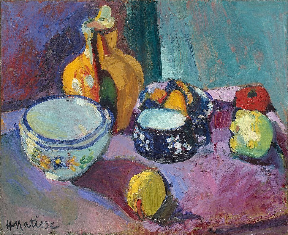 Matisse - Dishes and Fruit (1901)