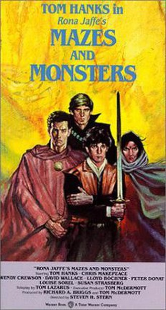 History of role-playing games - Mazes and Monsters, an anti-RPG film from 1982