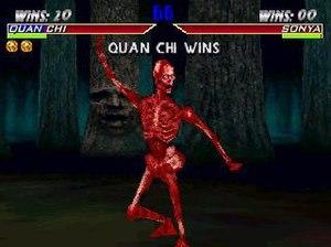 Quan Chi as Meat in Mortal Kombat 4
