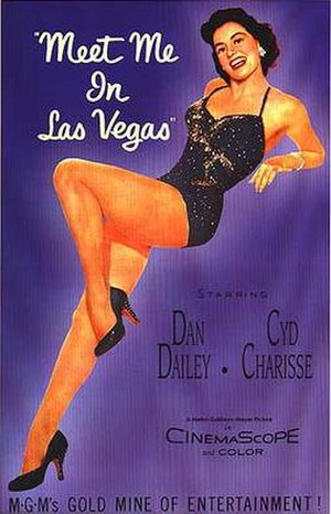 Meet Me in Las Vegas - Theatrical release poster