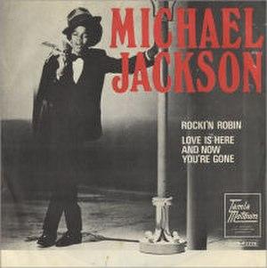 Rockin' Robin (song) - Image: Michael Jackson Rockin Robin 459738