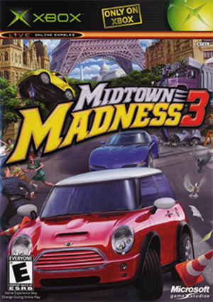 Midtown Madness 3 - Image: Midtown Madness 3 Coverart