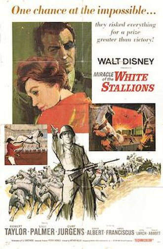 Miracle of the White Stallions - Theatrical Film Poster