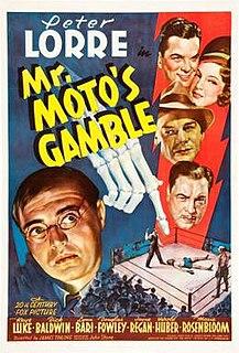 <i>Mr. Motos Gamble</i> 1938 film by James Tinling