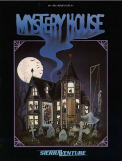 <i>Mystery House</i> 1980 video game