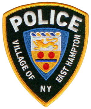 East Hampton (village), New York - Image: NY East Hampton Village Police