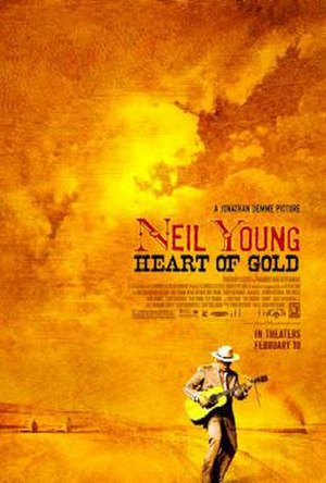 Neil Young: Heart of Gold - Theatrical release poster