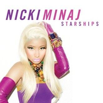 Starships (song) - Image: Nickiminaj Starships Pinkfridayromanreloa ded