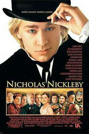 Nicholas Nickleby (2002 film) - Theatrical release poster