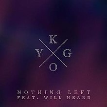 Kygo featuring Will Heard — Nothing Left (studio acapella)