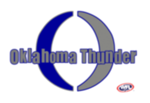 Oklahoma Thunder - Image: Oklahoma Thunder WFL logo