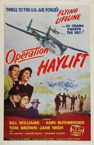 Operation Haylift - Original theatrical film poster