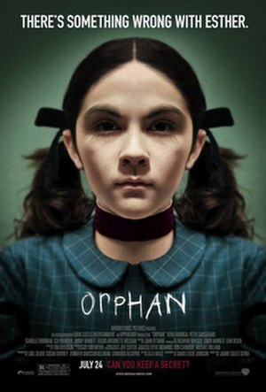 Orphan (2009 film) - Theatrical release poster