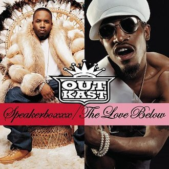 Speakerboxxx/The Love Below - Image: Outkast speakerboxx lovebelow