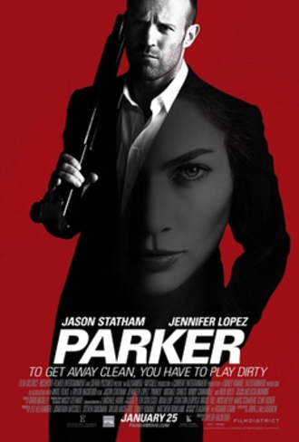 Parker (2013 film) - Theatrical release poster