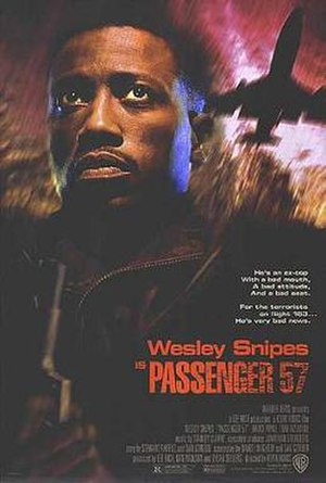 Passenger 57 - Film poster for Passenger 57