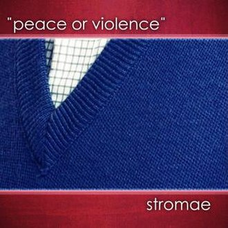Peace or Violence - Image: Peace or violence