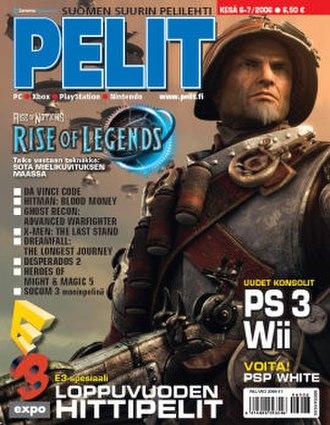 Pelit - Image: Pelit cover