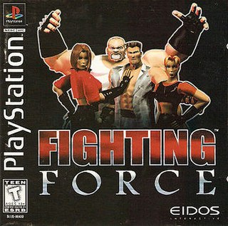 <i>Fighting Force</i> Video game