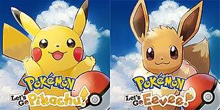<i>Pokémon: Lets Go, Pikachu!</i> and <i>Lets Go, Eevee!</i> Role-playing video game