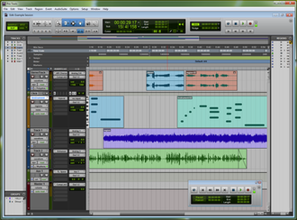 Pro Tools - Pro Tools 9 running on Windows
