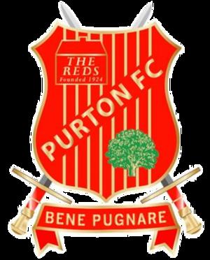Purton F.C. - Image: Purton F.C. logo