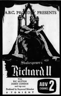 <i>The Life and Death of King Richard II</i> (1960 film)