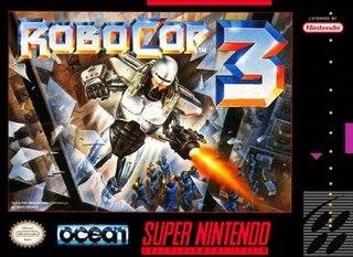 <i>RoboCop 3</i> (video game) 1991-1993 video game
