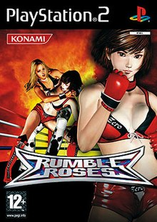 rumble rose ps2