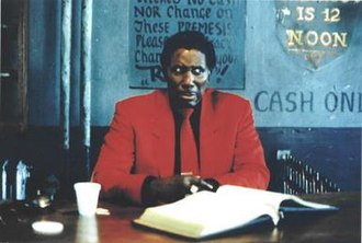 Mystery Train (film) - Image: Screamin' Jay Hawkins as Night Clerk in Mystery Train by Masayoshi Sukita