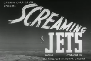 Screaming Jets (film) - Opening title