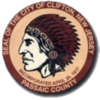 Clifton, New Jersey - Image: Seal Of Clifton