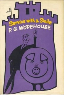<i>Service with a Smile</i> 1961 novel by P.G. Wodehouse