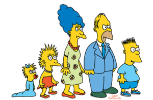 Matt Groening - The design of the Simpson family, circa 1987