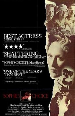 Sophie's Choice (film) - Theatrical release poster