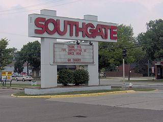 Southgate Shopping Center Shopping center in Michigan, United States