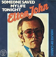 Elton John - Someone Saved My Life Tonight (studio acapella)