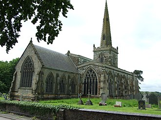Stoughton, Leicestershire - The church of St Mary and All Saints, Stoughton