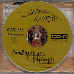 Sublime Acoustic: Bradley Nowell & Friends - Image: Sublime Acoustic CD