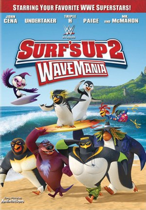 Surf's Up 2: WaveMania - DVD cover