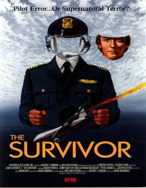 The Survivor (1981 film) - Theatrical film poster