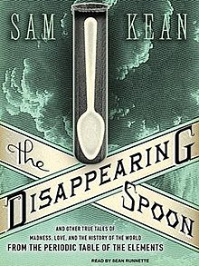 the disappearing spoon by sam kean Sam kean's disappearing spoon each video in this video, sam kean tells the story of how phosphorus was at the center of the race to discover the structure of dna.
