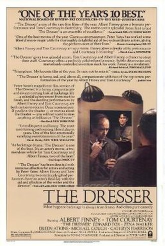 The Dresser (1983 film) - Image: The Dresser (movie poster)