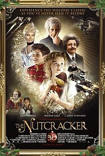<i>The Nutcracker in 3D</i> 2010 film by Andrei Konchalovsky