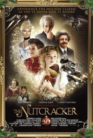 The Nutcracker in 3D - Theatrical release poster